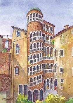 19 Venezia - Palazzo Contarini del Bovolo di G. Candi