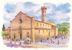 01q Fiesole - La Cattedrale