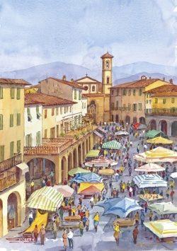 02 Greve in Chianti - Il mercato dell'antiquariato