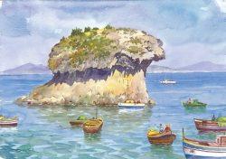 02 Isola d' Ischia - Lacco Ameno: Il Fungo