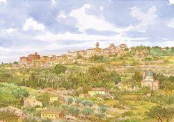 02 Montepulciano - Panorama e Tempio di San Biagio
