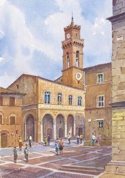 02 Pienza - Il Palazzo Comunale