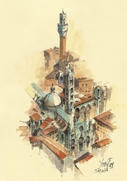 02 Siena - Il Duomo e il Palazzo Comunale