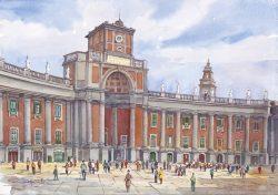 21 Napoli - Piazza Dante, Convitto Nazionale Vittorio Emanuele