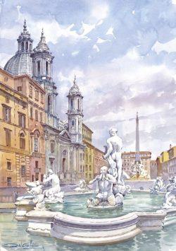 21 Roma - Piazza Navona