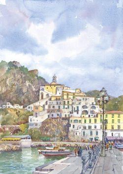 03 Amalfi - Colori e sensazioni di vita antica e moderna