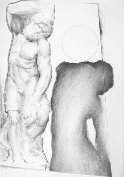 03 Omaggio a Michelangelo: Lo Schiavo Barbuto o Il Prigione