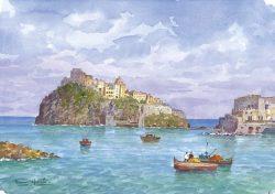 03 Isola d' Ischia - Ischia Ponte: Il Castello Aragonese