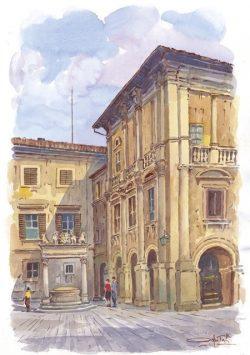 03 Montepulciano - Pozzo dei Grifi e dei Leoni