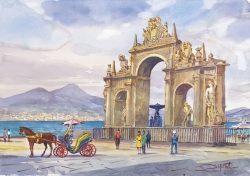 03 Napoli - Panorama dall'Immacolatella