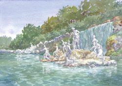 39 Caserta - Parco Reale: Fontana di Diana
