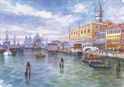 04 Venezia - Panorama all'imbrunire