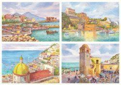 46 Quattro Immagini - Napoli, Sorrento, Positano, Capri
