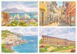 47 Quattro Immagini - Napoli, Sorrento, Amalfi, Caserta
