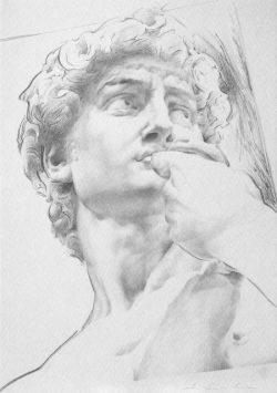 05 Omaggio a Michelangelo: Volto del David