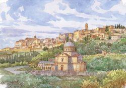 05 Montepulciano - La bella città e il delizioso di San Biagio