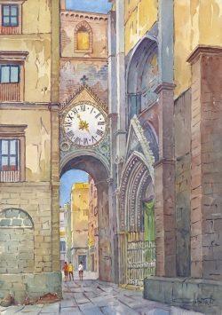 05 Napoli - Chiesa di Sant'Eligio, arco e portale