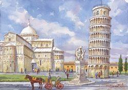 05 Pisa - La Cattedrale e la Torre Pendente