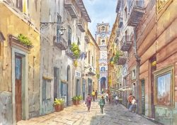05 Sorrento - Antico Vicoletto dell'Arcivescovado