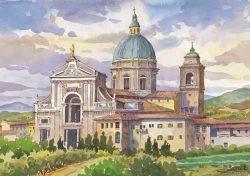 06 Assisi - Basilica Patriarcale di Santa Maria degli Angeli