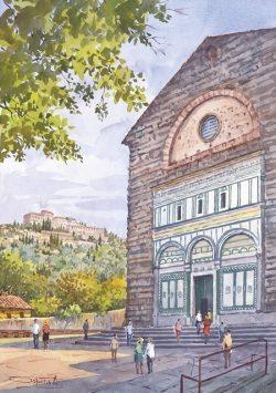 06 Fiesole - La Badia Fiesolana