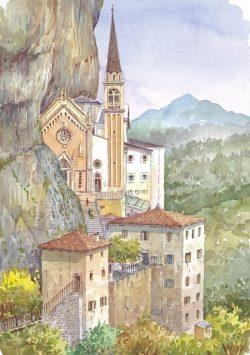 06 Lungo le coste del Garda - Santuario della Madonna della Corona
