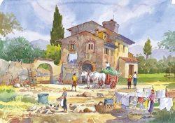 06 Vita Rurale - Tutti attivi nel proprio compito giornaliero