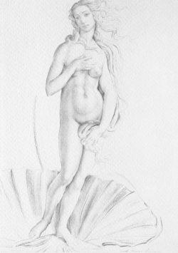 07 Omaggio a Botticelli: La nascita di Venere
