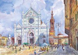 007 Firenze - Basilica di Santa Croce