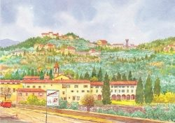 08 Fiesole - San Domenico e i bei colli Fiesolani