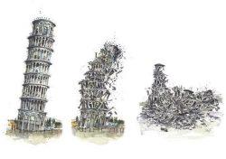 08 Pisa - La Torre beffa se stessa
