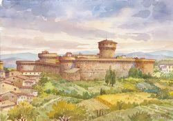 08 Volterra - La Fortezza Medicea