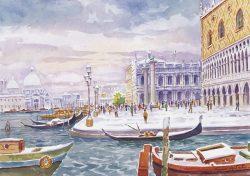 09 Venezia - La città innevata