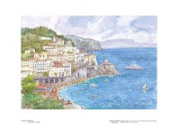 Poster 01 Amalfi: Panorama