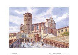 Poster 01 Assisi: La Basilica di San Francesco
