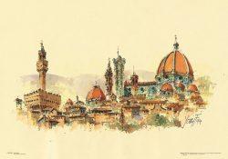 Poster 01 Firenze: Panorama