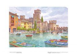 Poster 01 Lungo le coste del Garda: Il castello di Sirmione