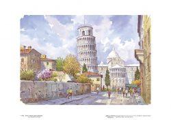 Poster 01 Pisa: Torre e Abside della Cattedrale