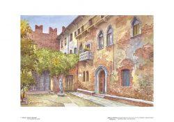 Poster 01 Verona: Casa di Giulietta