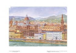 Poster 10 Firenze: Panorama dal Forte Belvedere