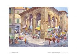Poster 13 Firenze: Logge del Porcellino