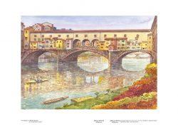 Poster 14 Firenze: Il Ponte Vecchio
