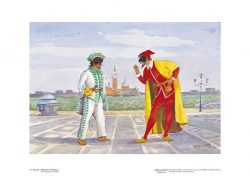 Poster 14 Venezia: Brighella e Pantalone
