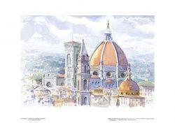 Poster 15 Firenze: Il Duomo e la Badia fiorentina