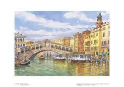 Poster 15 Venezia: Il Ponte di Rialto
