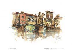 Poster 17 Firenze: Il Ponte Vecchio