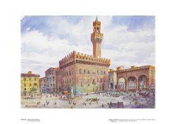 Poster 18 Firenze: Piazza della Signoria