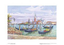 Poster 19 Venezia: In gondola a San Giorgio