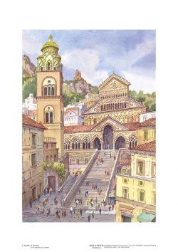 Poster 02 Amalfi: Il Duomo