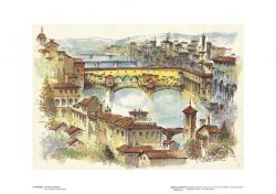Poster 02 Firenze: Il Ponte Vecchio
